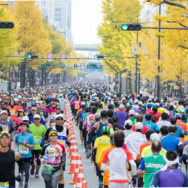 グラフィック 大阪マラソン